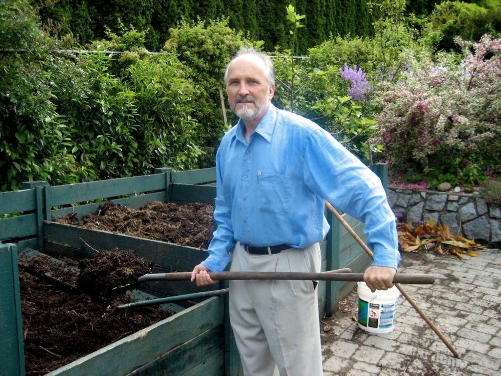 Arran Compost pile