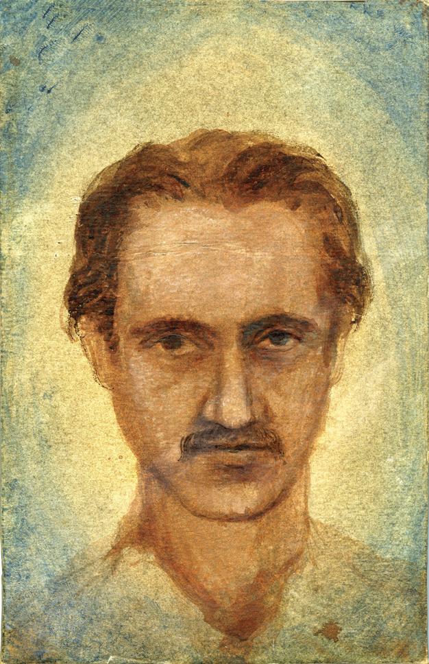 Arran self-portrait 1964