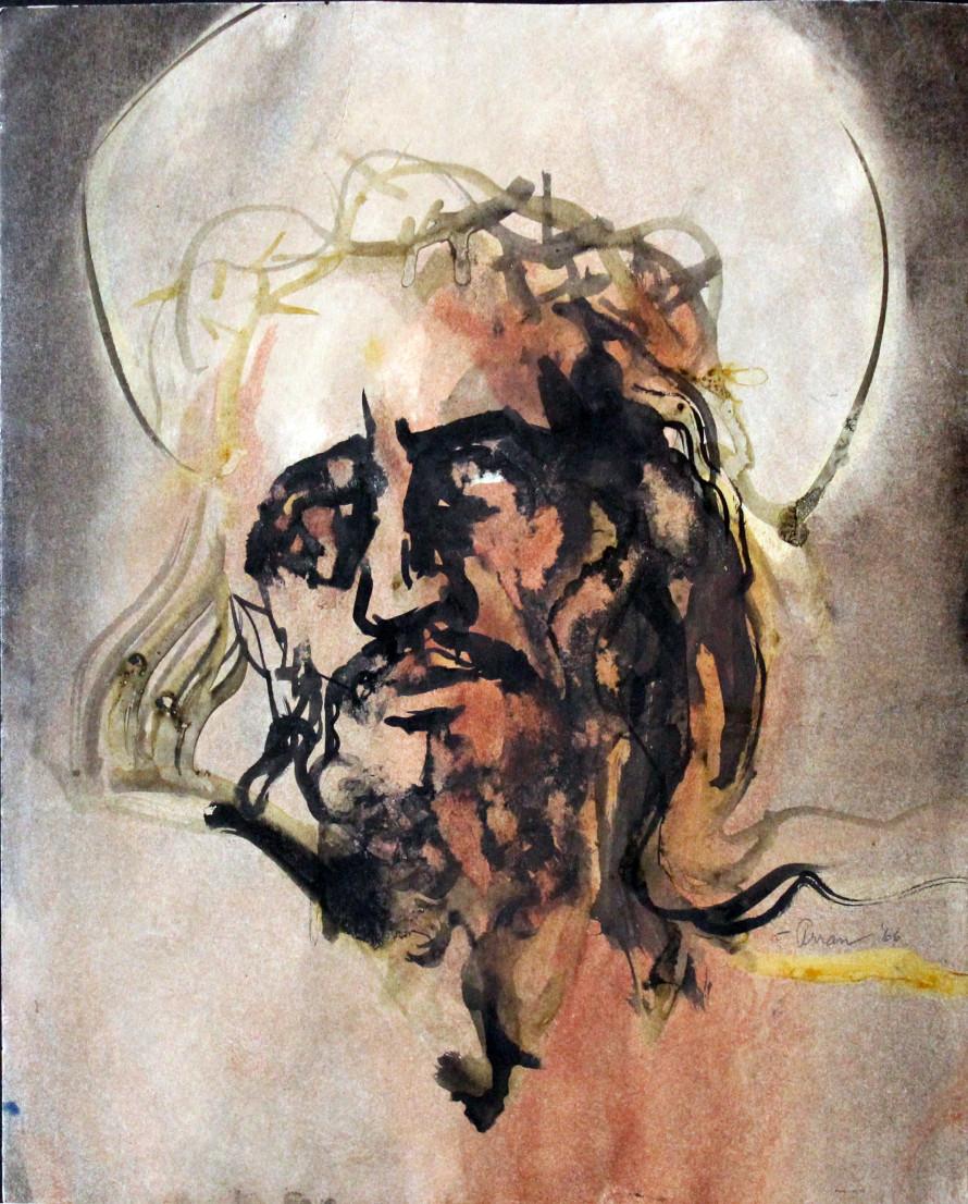 Christ Head - Arran's painting